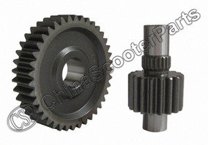 Performance Racing Getriebe Gear Set 18T 39T Für DIO 50 AF18 Aeroflo28 ZX34 ZX35 Scooter Tjop #