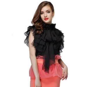 HIGH QUALITY New Fashion 2020 Designer Top Women's Cascading Ruffles Bow Tank Top Blouse