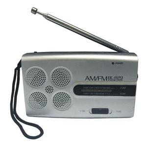 BC-R29 mini bolsillo Radio portátil AM FM Radio Receptor de música de la mañana del jugador Ejercicio