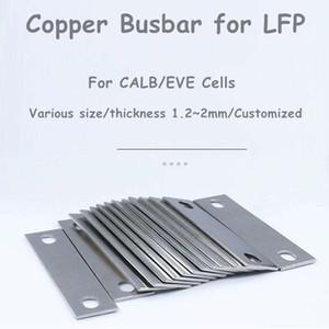 copper busbars copper connectors 1PCS for CALB EVE Lifepo4 lithium battery cells