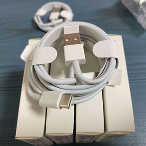 Yeni perakende paketi ile 100pcs 7 kuşak Orijinal OEM kaliteli 1m 3 ft 2m 6af USB Data Sync Şarj telefon Kablo