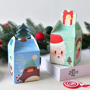 عيد ميلاد سعيد حقائب هدية عيد الميلاد شجرة التغليف البلاستيكية حقيبة ندفة الثلج حلوى عيد الميلاد صندوق السنة الجديدة للأطفال الحسنات حقيبة نويل ديكور