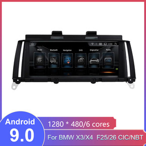 Android screen 9.0 For 2011-2016 BMW X3 X4 F25 26 CIC NBT Car Stereo Audio radio Multimedia Video Player gps