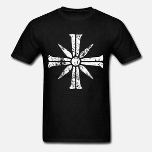Kreuz Zeichen von Far Cry 5 T-Shirts Fitness 2020 stilvolle Gebäude-T-Shirt für Männer O-Ansatz Street Freizeit Anlarach Individuell