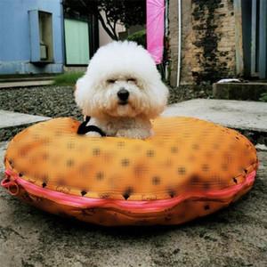 2 colores preciosos admiten redondas perrera completa carta impresa admiten PU Camas clásico extraíble Schnauzer Bichon perreras