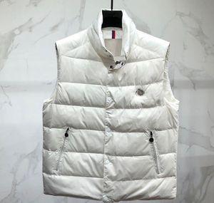 aşağı boy art yelek Ekleme gübre sonbahar kış kış açık erkek ceketi aşağı yelek büyük boy standı yaka kalın sıcak aşağı
