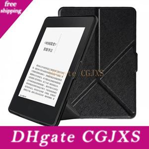 Transformateurs Flip en cuir Smart Cover Case pour Amazon Kindle Paperwhite 1/2/3 6 pouces Kindle Paperwhite Ebook Reader cas