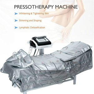 3 In 1 Far Infrared Pressotherapy BIO EMS Electric Muscle Stimulation Air Pressure Pressotherapy Lymph Drainage Body Slimming Machine