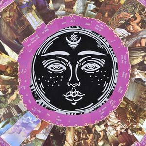 Kurul Tarot Kartları Bezi Sınıf Tablecloth İçin Tarot High Table Kehanet Kalın Games 4949cm Günlük Sihirbazlar yxluwc qpseller
