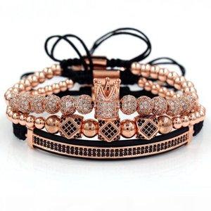 Hommes Crown Charm Bracelet des hommes de luxe perles Bracelets Créatrice de bijoux femmes braclet pour femmes bracelets bangle de série des accessoires de mode