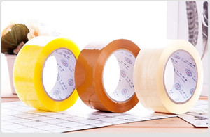 2020 hot sale Manufacturer wholesale transparent tape 4.5 5.5 6cm widened packaging sealing tape adhesive tape