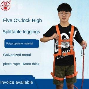 fang caída a prueba de cinco puntos de trabajo de todo el cuerpo solo gancho aérea cinturón de seguridad Huian Quan Hui seguridad aérea k9mct cinturón