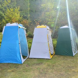 텐트와 쉼터 캠핑 화장실 텐트 120cm 프라이버시 야외 휴대용 드레싱 수영복 룸