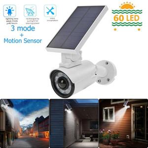 اقتراح الاستشعار أدى الجدار الخفيفة للطاقة الشمسية 800LM IP66 للماء مصباح مصباح مراقبة الأمن كاميرا ستريت أضواء في الهواء الطلق حديقة الباحة