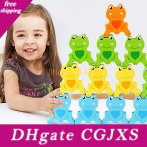 아기 지적 교육 장난감 어린이 게임 유아 교육 낚시 자기 나무 개구리 균형 빌딩 블록을 S