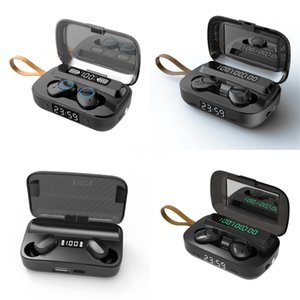 NEW I7 I7S TWS drahtloses Bluetooth Earbuds Zwillings-Kopfhörer-Kopfhörer-Kopfhörer mit Ladegerät Box für Android Samsung Sony Smart Phones MQ10 # 147