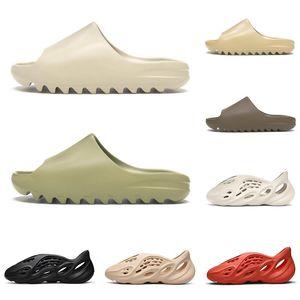 adidas yeezy slide kanye west billige Pantoffeln kanye Rutsche für Männer Frauen Knochen Desert Sand Earth Brown Harzschaum Läufer Mens Ararat im Freien Sandalen Größe 5-11