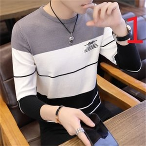 Autumn and winter men's plus velvet long-sleeved T-shirt cotton warm clothing bottoming shirt 0924