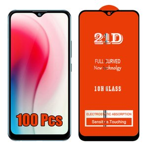 21D Full Glue Tempered Glass Curved Guard Proof Full Coverage Screen Protector Film For Xiaomi Redmi Note 9 Pro Max 9A 9C 9S 8 8A 8T 10X