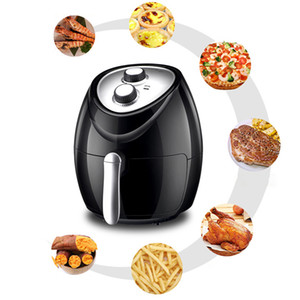 220V Air Fryer Home Multicooker Without Oil Commercial High Capacity French Fries Machine Electric Fryer Airfryer For Kitchen