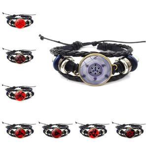 Naruto Bracelet Round Eye Time Gem High-end Popular Retro Woven Bracelet Jewelry Bracelets For Women