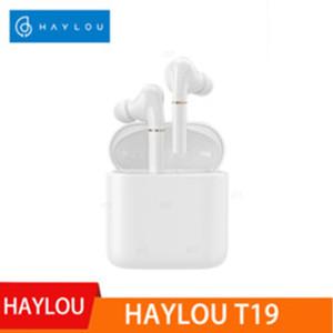 الأصلي Haylou T19 اللاسلكية شحن TWS + سماعات بلوتوث APTX الأشعة تحت الحمراء الاستشعار اللاسلكي التي تعمل باللمس سماعات إلغاء الضوضاء