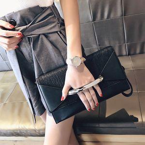 Envelope Clutch Bag Women Leather Luxury Handbags Birthday Party Evening Clutch Bags For Women Ladies Shoulder Clutch Bag Purse