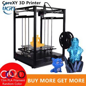 UCRT CoreXY 3D-Drucker Sapphire Plus Core-xy 300 * 300 * 330mm DIY Kits 3.5-Zoll-Touch-Screen facesheild Unterstützung mehrerer Sprachen