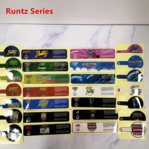 3.5g Çerezler Runtz PVC 2 ons 60ml çocuk tarafından cam kavanoz Gary Payton Çerezler SF Londra Pound Kek Çıkartma Jungle boyz etiketler için Etiketler