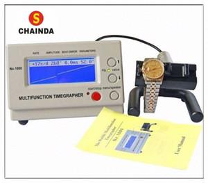 Weishi 1000 orologio meccanico Timing Macchina orologio Timegrapher per la riparazione + 1pc panno di pulizia BCiU #