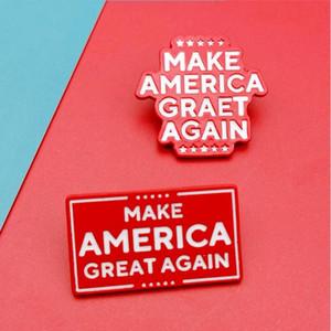 Broche Trump Trump insignia del partido Elección Presidencial 2020: Nuestra Salud, Gran Placa De nuevo nos provee favor de partido 200pcs CCA12460