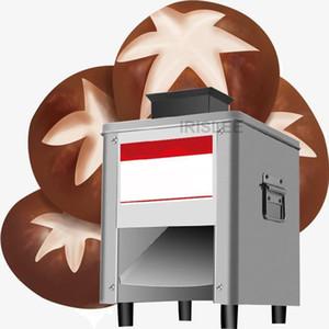 Автоматическая электрическая Мясо Овощной резки Grinder машина резки мяса Meat ножевой блок из нержавеющей стали Slicer 220
