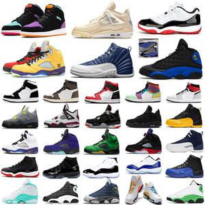 nike air jordan retro 11 jordan 13 13s Aire Jordán Retro 11s Zapatillas de baloncesto 11 Snakeskin Concord 45 Cap and Gown Zapatillas de deporte para hombre Zapatillas deportivas
