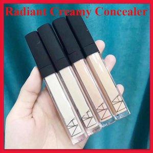 N maquillaje de cara 6ml radiante cremoso corrector facial Fundación sin peso perfecto todo el día Concurrentes 4 colores