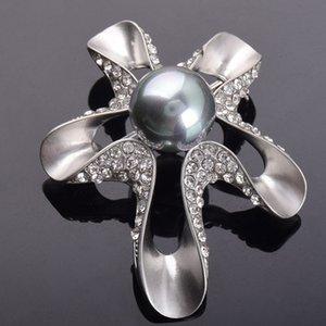 y009 youzun boutique creativa cappotto di perle di cristallo modellazione stelle marine spilla di perle coreano stile high-end Crystal Coat spilla Au8OJ