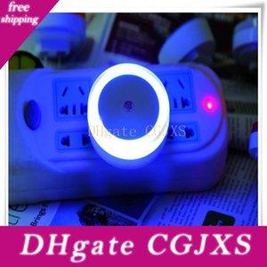 -Control inteligente luz del sensor de la noche del anillo de luz se enciende para Niños habitación del bebé de noche hay necesidad Interruptor Conservación de la Energía