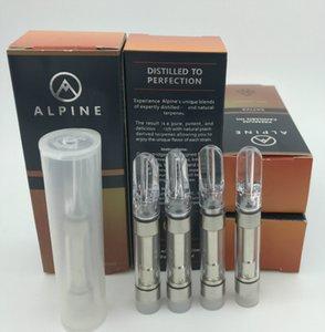 Новый Alpine Cartridge Живая смола Vape Корзина 0,8 мл Tank экстракт Керамический Coil 510 батареи Dime Дружественные Farm