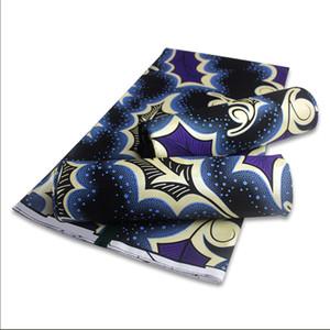 NUOVO DESIGN nigeriano cera stampata tessuto 100% di cotone africano stampe CERA TESSUTO PER CUCIRE