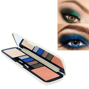 2 in 1Multifunctional Practical Eyeshadow With Mirror For All Skin Type Blush Set Makeup Palette