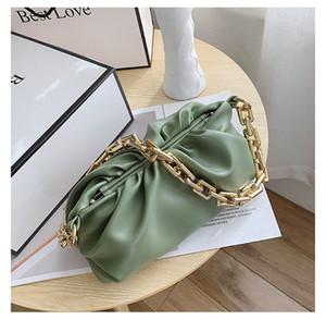 귀여운 수염 소매 용 지주 봉투 가방 리벳 다기능 핸드백 어깨 체인 # 675