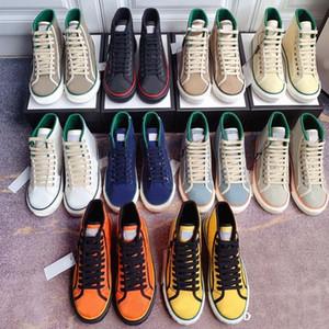 Casual Shoes High Top Sneakers delle signore del progettista di tennis 1977 uomini di serie del signore Lettera Lace lusso 77 Scarpe ricamato Women Canvas Shoes