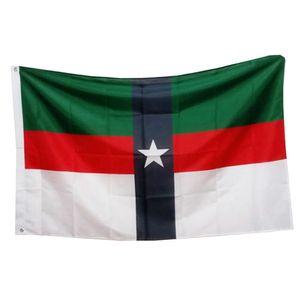 USA Texas Denison City Flag, 100D Polyester-Drucken-Gewebe Werbeflaggen Fahnen, freies Verschiffen, Gewohnheit 3x5ft Flags