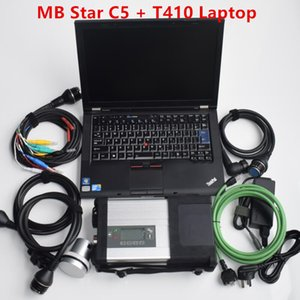 MB Star C5 Diagnosis Tool with software SSD V2020.09 Plus Laptop t410 4g