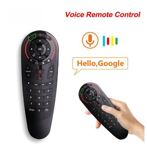 G30 Voice telecomando senza fili 2.4G Air Mouse Microfono giroscopio 33 Tastiere IR Learning per Android TV Box