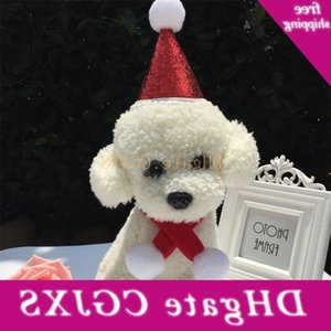 2 Hat +scarf Fashion Piece Dog Costume Set Xmas Holiday Suit Christmas Decoration for Dogs Cats Pet Apparel Menp