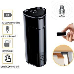 مصغرة الصوت مسجل صوت القلم 300 ساعة تسجيل 8GB الرقمية HD للحد من الضوضاء الإملاء دينويسي لمسافات طويلة WAV تسجيل