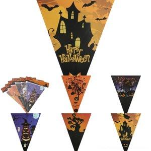 rURs9 llegada pullflag Diseño de Halloween del palo de enfriar colgante chapado en papel de plata P121 partido montajes para colgar la joyería DIY de moda para las mujeres nueva N