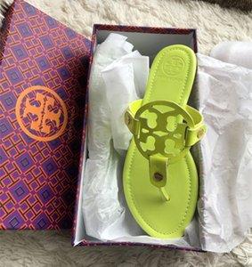 Designer di lussoGG Donna Sandali Infradito 2020 Estate scarpe basse donna Bohemian scorrevoli delle signore vacanze Beach Sandales Femme