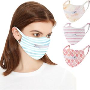 Kişilik Moda Yüz Maskesi Fermuar Tasarım Yıkanabilir Yeniden kullanılabilir Koruyucu Maskeler Toz geçirmez Nefes Bisiklet DHL Ücretsiz Kargo Maske