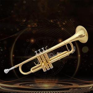 Nouveau Professionnel BB Trumpet LT180-43 GOLD LACQUER INSTRUMIERS MUSICALES PROFESSIONALES Livraison gratuite